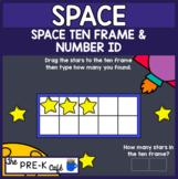 BOOM Cards Space Ten Frames