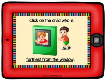 BOOM Cards Following Directions No Prep Interactive iPad Activity