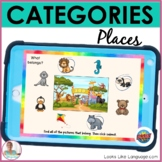 BOOM Cards   Speech-Language Therapy   Categories   What B