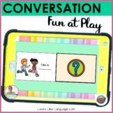 BOOM Cards   Speech-Language Therapy   Conversation Skills