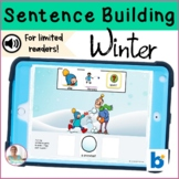 BOOM Cards   Speech-Language Therapy   Sentence Building   Winter