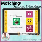 BOOM Cards | Speech-Language Therapy  | Social Skills | Feelings