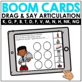 Articulation EARLY SOUNDS | BOOM Cards™️ Speech Therapy Di