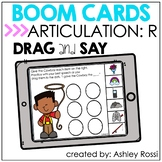 Articulation R | BOOM Cards™️ Speech Therapy Distance Learning