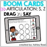 BOOM Cards™️ Speech Therapy Articulation S AND Z