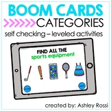CATEGORIES | BOOM Cards™️ Speech Therapy Distance Learning