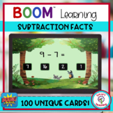 BOOM Cards Basic Subtraction Facts to 10 Digital Resource