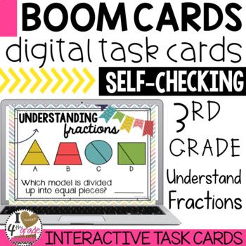 BOOM Cards Understanding Fractions