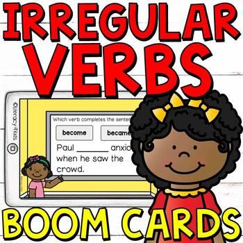 BOOM! Cards (Verbs) Freebie!