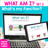 BOOM Cards Vocabulary & Object Function Speech Therapy Set