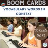 BOOM Cards Vocabulary Words Set 2