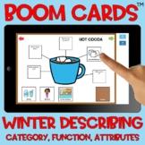 BOOM Cards™️ Winter Describing Webs Category Function Attr