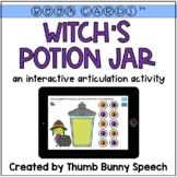BOOM Cards: Witch's Potion Jar - Interactive Articulation