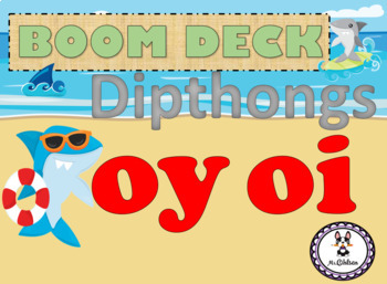BOOM Deck Interactive First Grade Phonics: Dipthongs oy oi