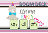 BOOM Deck Interactive First Grade Phonics: Word Families all am an