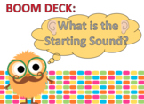 BOOM Deck Interactive Kindergarten First Grade Phonics -- Initial sounds