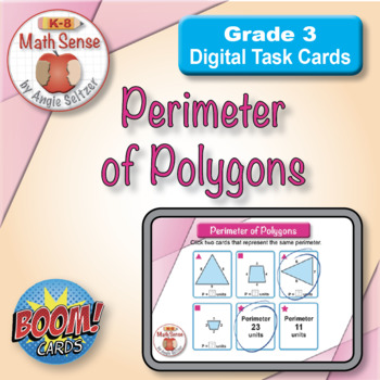 BOOM Digital Game Cards 3M: Perimeter of Polygons