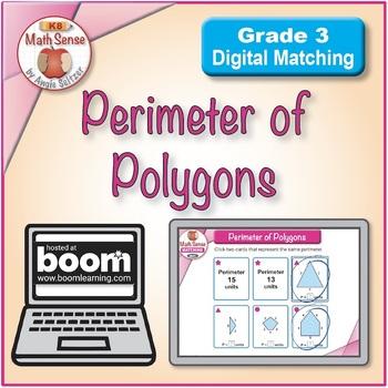 Perimeter of Polygons: BOOM Digital Game Cards 3M41P