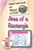 Understanding Area of a Rectangle: BOOM Digital Game Cards 3M33