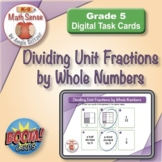 Dividing Unit Fractions by Whole Numbers: BOOM Digital Game Cards 5F26
