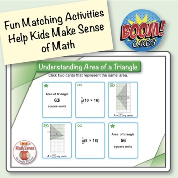 BOOM Digital Game Cards 6G: Understanding Area of a Triangle