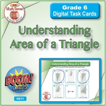 Understanding Area of a Triangle: BOOM Digital Game Cards 6G