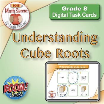 BOOM Digital Game Cards 8E: Understanding Cube Roots