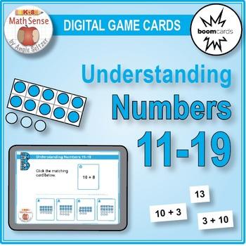 BOOM Digital Game Cards KB: Understanding Numbers 11-19