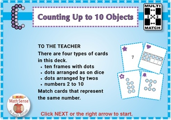BOOM Digital Game Cards KC: Counting Up to 10 Objects