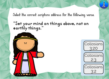 BOOM Digital Task Cards: Name the Scripture References or Addresses