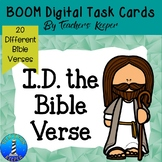 BOOM Digital Task Cards: Name the Scripture References or