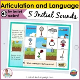 BOOM Distance Learning Speech Therapy | S Sound Language M
