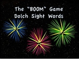 """""""BOOM"""" Dolch Sight Word Game"""