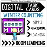 Digital Task Cards FREEBIE: Winter Counting 1-10