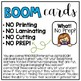 BOOM Interactive Task Cards: Winter Number Line 1-10
