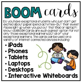 BOOM Interactive Task Cards: Winter Visual Addition