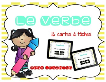 BOOM LEARNING -  le verbe