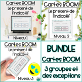 French BOOM - Le présent de l'indicatif - 3 groupes et exceptions