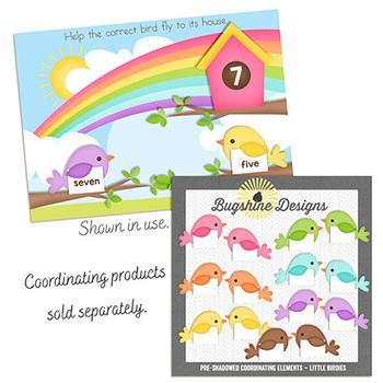 BOOM! Learning ~ Coordinating Elements {Little Birdies}