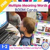 BOOM Learning-Homonyms (Multiple Meaning Words) Interactiv