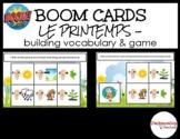 BOOM Learning Bundle - LE PRINTEMPS - *Vocab + Game*