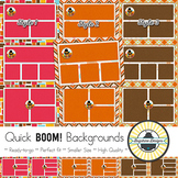 BOOM! Learning Quick Backgrounds {Set 29}