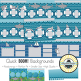 BOOM! Learning Quick Backgrounds {Set 58: Sharks}