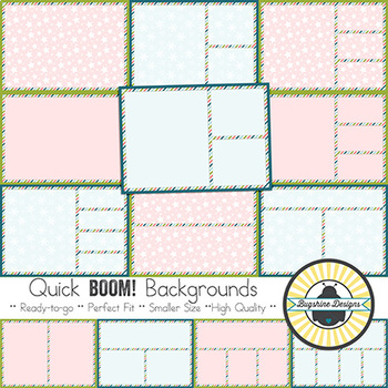 BOOM! Learning Quick Backgrounds {Set 73: Winter Night}