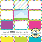 BOOM! Learning Quick Backgrounds {Set 80: Spring Mini #1}