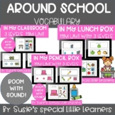 BOOM SCHOOL VOCAB BUNDLE EARLY CHILDHOOD SPECIAL ED & SPEECH