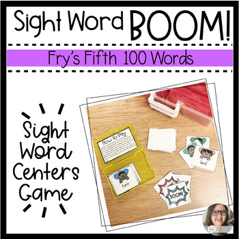BOOM! Sight Word Game - Fry's Fifth Hundred Words