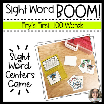 BOOM! Sight Word Game - Fry's First Hundred Words