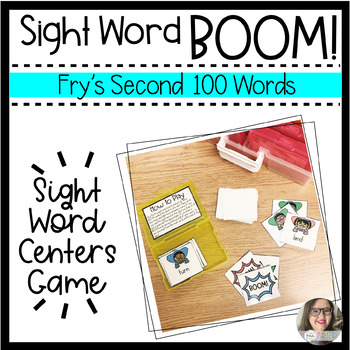 BOOM! Sight Word Game - Fry's Second Hundred Words