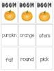 BOOM Sight Word Game - Pumpkin Themed